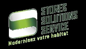 Logo Stores solutions Service depannage porte de garage